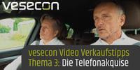 Video-Verkäufertipp #3: Die Telefonakquise