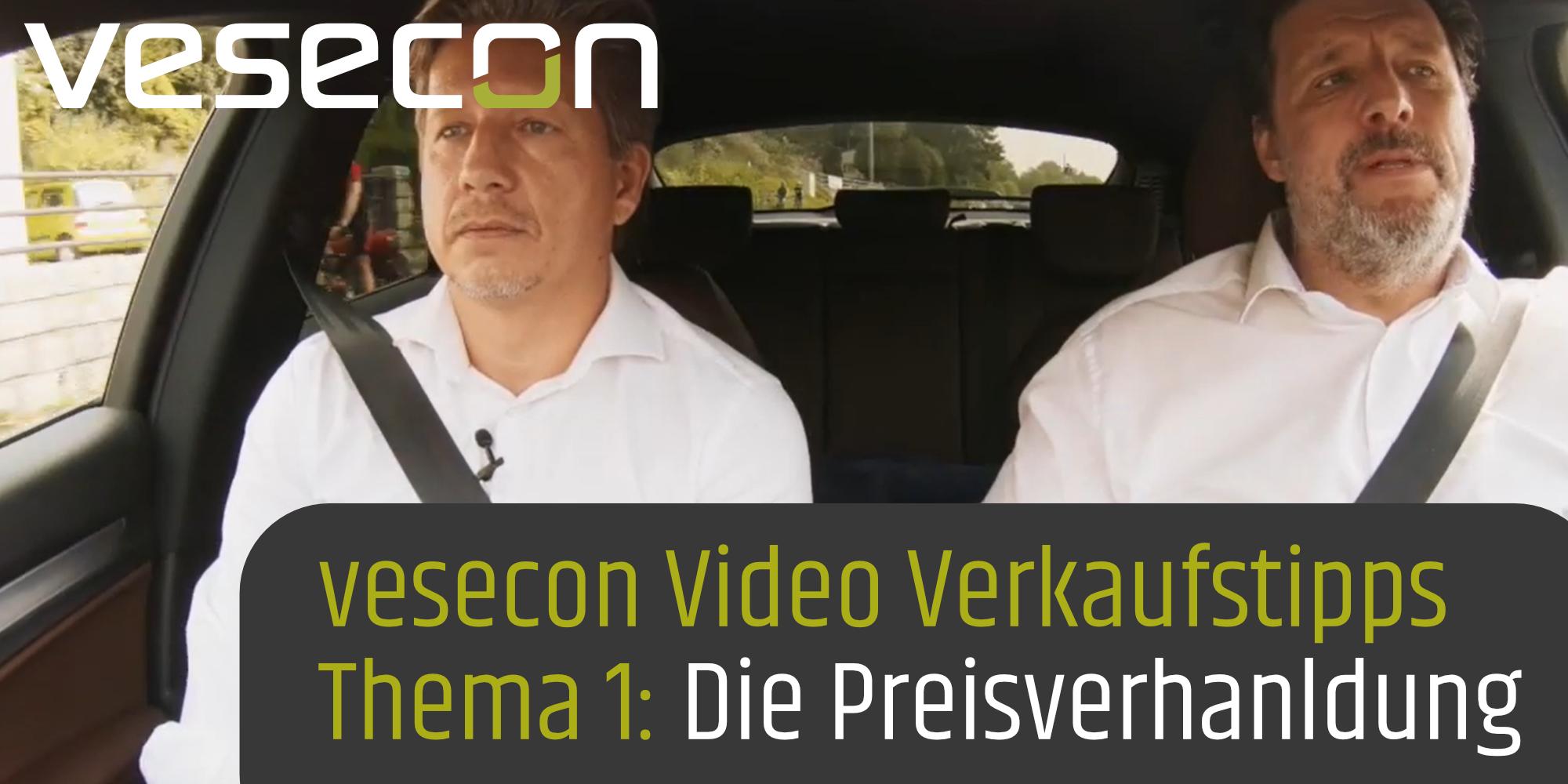 vesecon Video Verkauffstipps - Thema 1: die Peisverhanldung